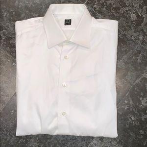 IKE Behar men's French-cuff dress shirt.